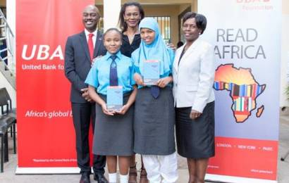 UBA foundation takes reading culture campaign to Kenya, donate 500 books to secondary school