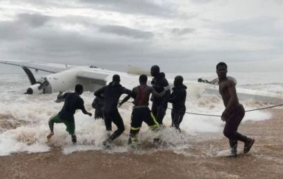 Four killed, six injured in Cargo plane crash