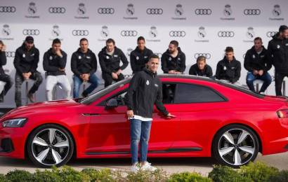Real Madrid Players get their yearly Audis, many are Q7 SUVs