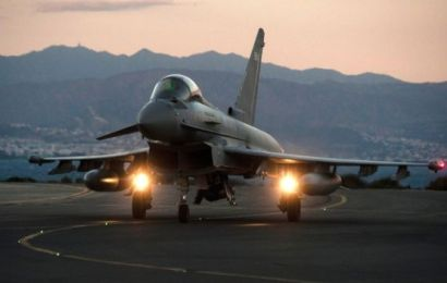 Qatar stakes £6b on 24 eurofighter jets