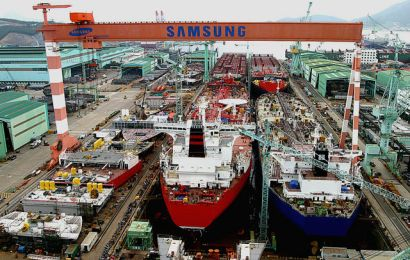Samsung Gets Order For $250m Special-Purpose Ships