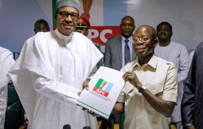 Buhari Submits Forms, Implores APC To Prepare For Election