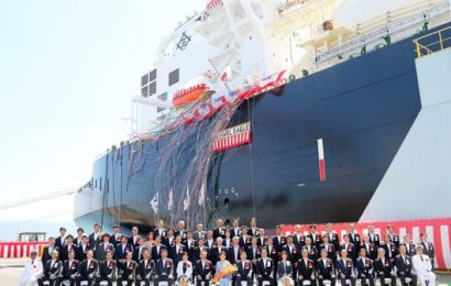 Firm  Takes Delivery of LNG Carrier