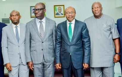 Emefiele In Benin,  Assures On Single-Digit Interest For MSMEs