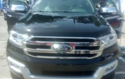 Coscharis Motors Unveils New Ford Everest