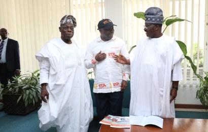 IITA Explains New Agric Policy Framework As Obasanjo,  Ajimobi Inaugurate Projects