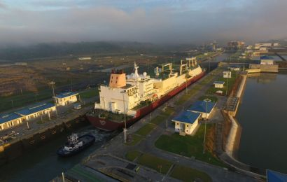 Panama Canal Welcomes Largest LNG Tanker