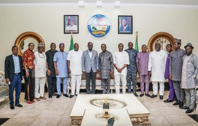 Obaseki, Okowa Meet On Bendel Development Commission