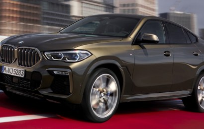New BMW X6 Coupe Debuts
