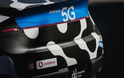 Samsung Unveils Remote-Controlled 5G Car