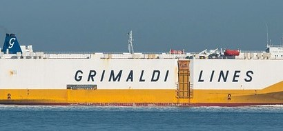 Grimaldi Takes Delivery of New Car, Truck Carrier