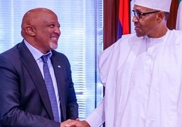 Buhari To MTN Chairman: We'll Provide Enabling Environment For Businesses To Thrive