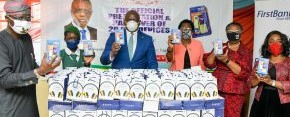 First Bank Hands Over 10,000 e-Learning Devices To Lagos State