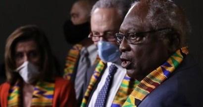 US Democrats Wearing Ghana's Kente Cloth