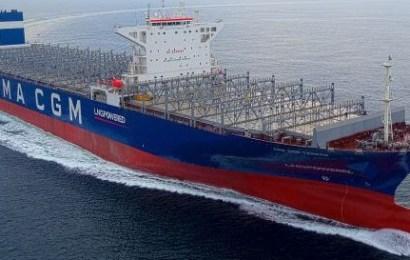 CMA CGM LNG Ship Completes Gas Trials