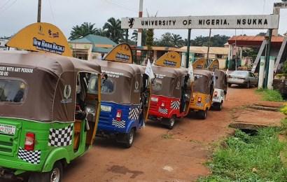 Tough Baba Bajaj Rallies More Than 5594 kms In 27 Cities, 18 States In Nigeria
