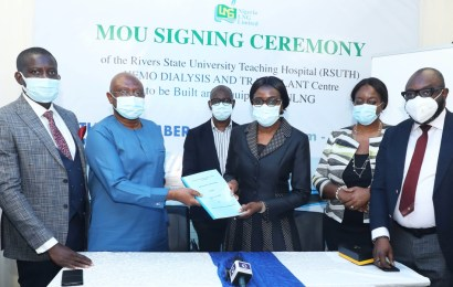 NLNG DonatesN381m Renal Centre To RSUTH