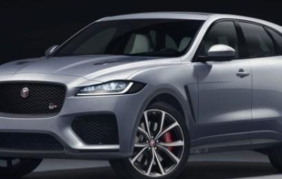 Jaguar Land Rover Displays 2021 F-Pace SVR