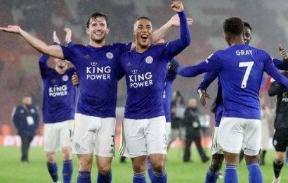 Leicester City Beats Southampton, Go Second In EPL