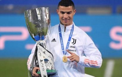Ronaldo's 760th Goal Lifts Juventus To Super Cup