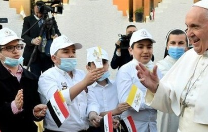 Pope Francis Holds First Mass In Iraq