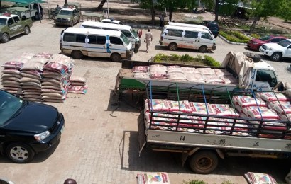 Customs Strike Force Intercepts 513 Bags Of Foreign Rice