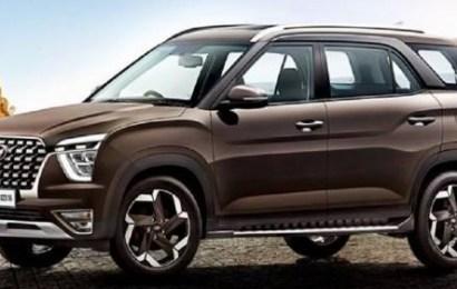 Hyundai Seven-Seater Alcazar SUV Debuts