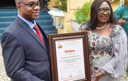 UNICAL VC Bags African Teaching Authority Award
