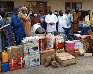 NIMASA Donates Relief Materials To IDPs In Lagos