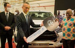 Toyota Unveils Ghana's Second Auto Assembly Plant
