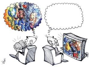 κουλτούρα τηλεόρασης