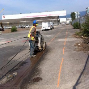 Asphalt Cutting
