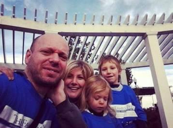 Oren Miller and family in 2012. Photo courtesy: Oren Miller