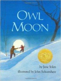 Christmas books for kids owl moon jane yolen