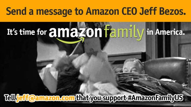 contact jeff bezos Amazon Mom