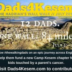 3 City Dads Groups Walking to Raise Money for Camp Kesem