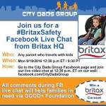 Child Car Seat Demo, Giveaway Sept. 19 on Facebook