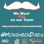 Movember Dads Get Fuzzy for Men's Health Cause