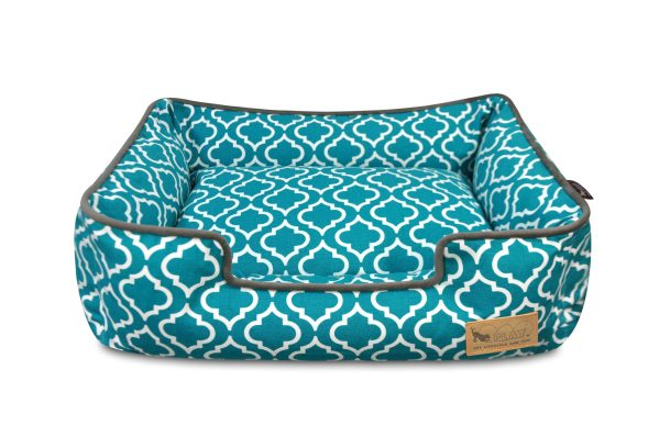 Moroccan Lounge Bed Teal