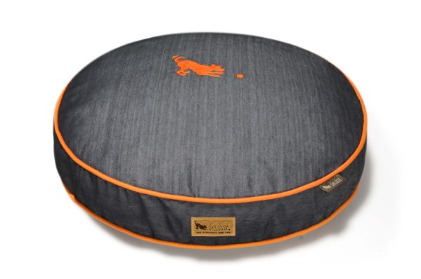 Urban Denim Round Bed Mandarin