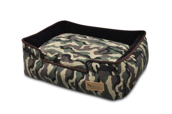 Camouflage Lounge Bed Army Green