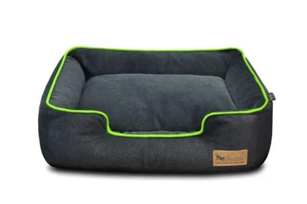 Urban Plush Lounge Bed Grey/Green