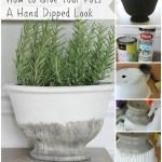 Diy Hand Dipped Glazed Pot City Farmhouse