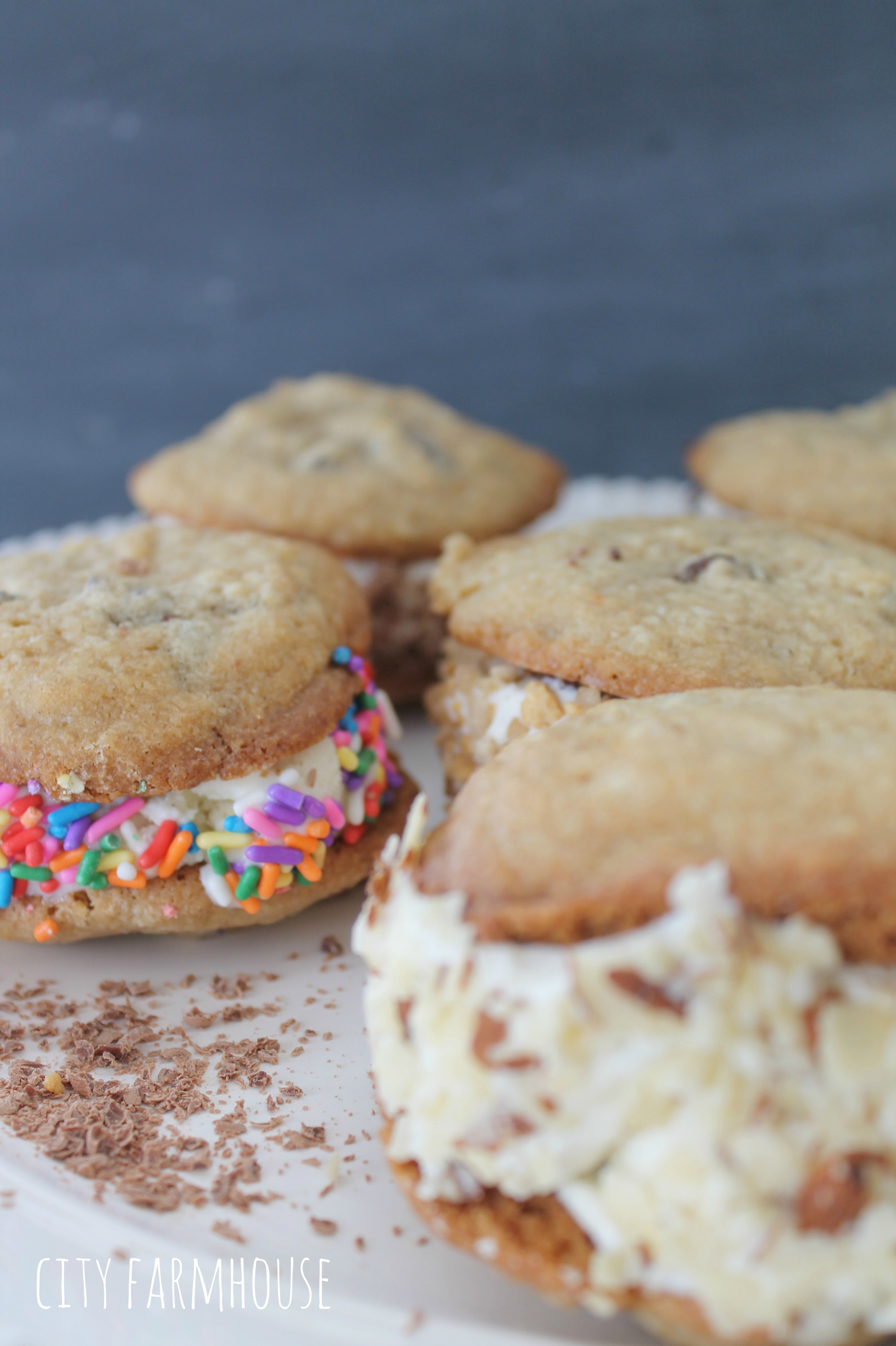 Ice Cream Cookie Sandwiches An Easy Dessert Everyone Will