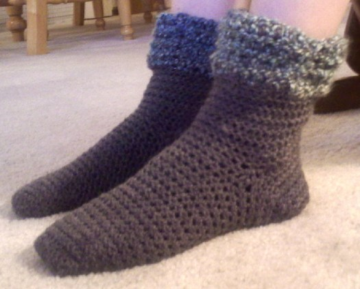 Crochet Bootsy Sock Pattern