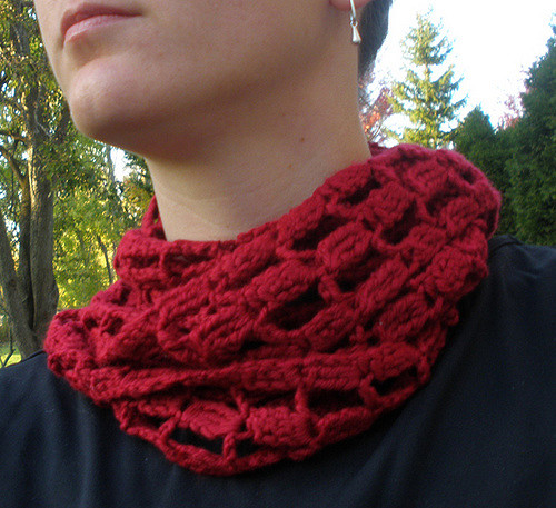 Crochet Easy Skinny Ladder Scarf