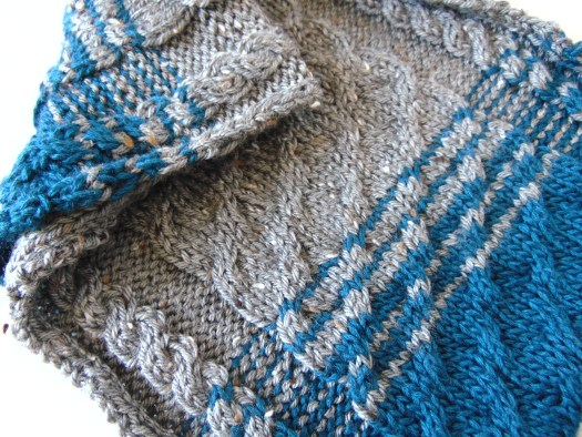 Hand Knit Cabled Cowl by City Farmhouse Studio