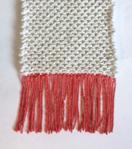 Free knitting pattern - Coffee House Scarf by www.CityFarmhouseStudio.com