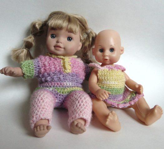 Free Crochet Pattern No More Naked Dolls by www.CityFarmhouseStudio.com