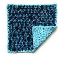 Crochet Across the Land Dish Cloth by www.CityFarmhouseStudio.com